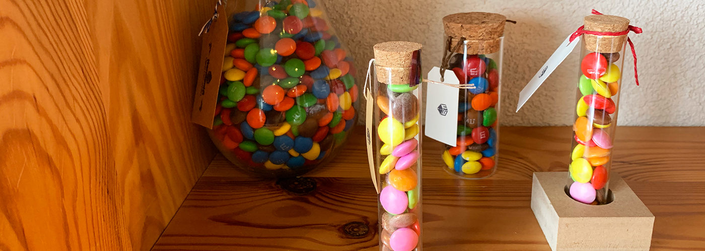 試験管チョコレート